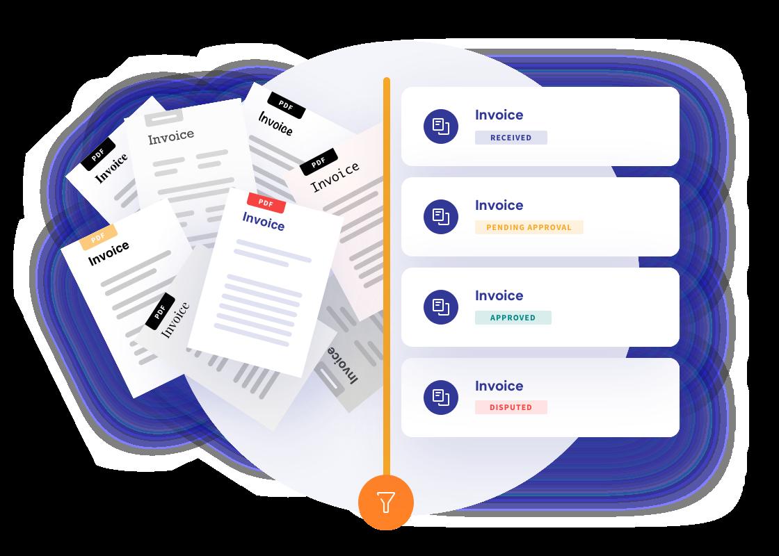 Convert PDF to e-invoice