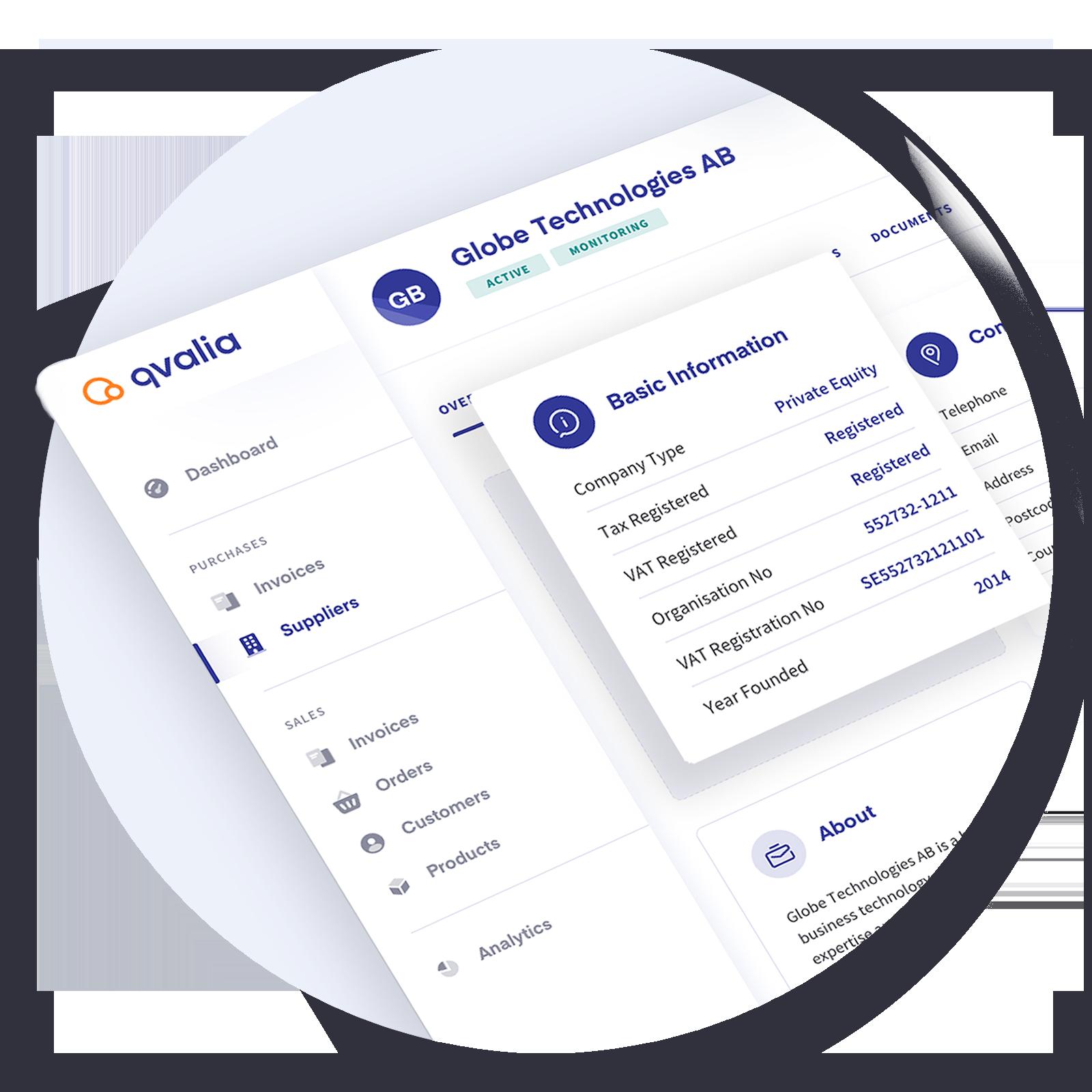Supplier master data software