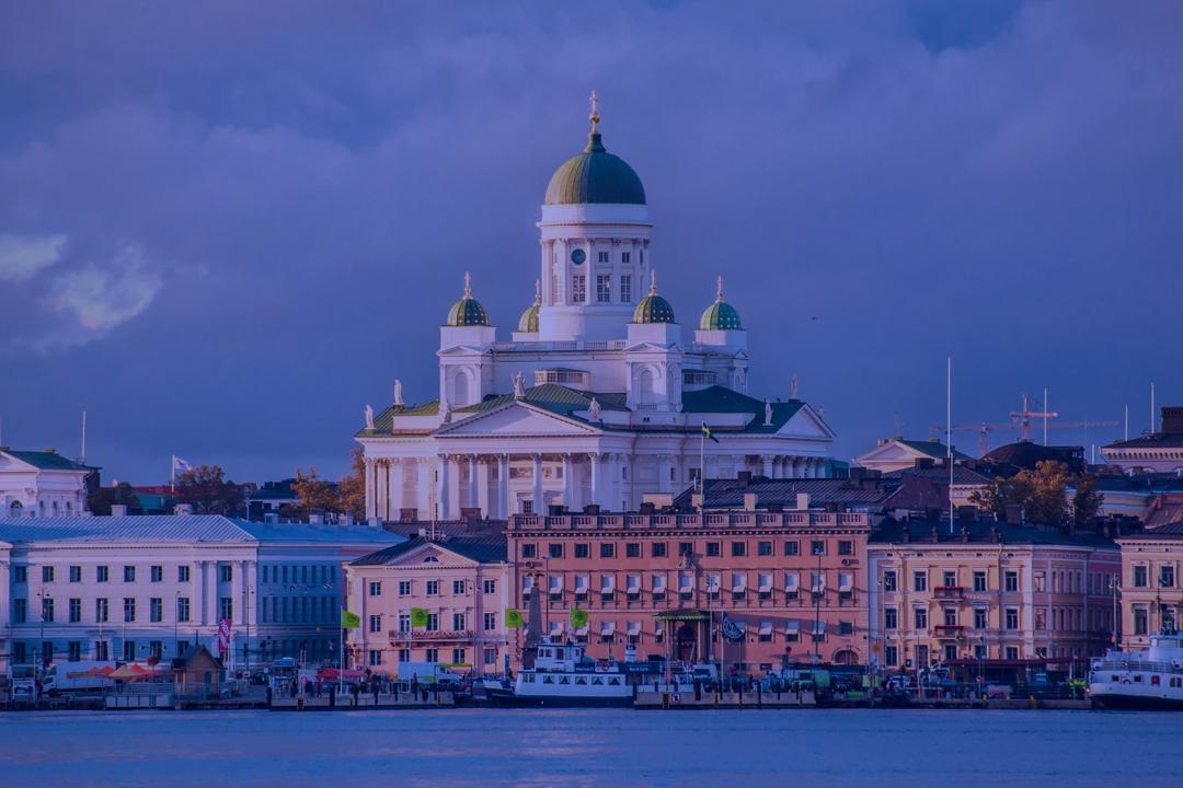 Image over Helsinki